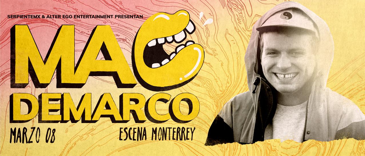 fae830da6 Compra boletos para Mac DeMarco en Monterrey - Boletia